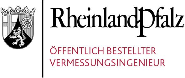 Logo Öffentlich bestellter Vermessungsingenieur Rheinland-Pfalz